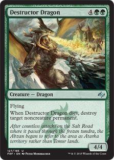 $.25 Destructor Dragon