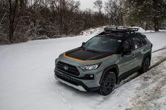 2019 Toyota in winter Toyota Rav4 Interior, Toyota Rav4 2019, Toyota Rav4 Hybrid, 4x4 Trucks, Subaru, Offroad, Dream Cars, Jeep, Vroom Vroom