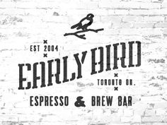 Design by Colin Miller .. Early Bird Coffee Shop