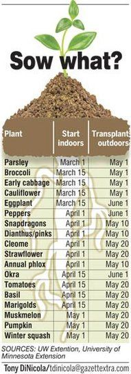 When to plant in Utah