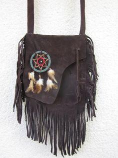 Indianer-Stil Tasche mit einem Traumfaenger