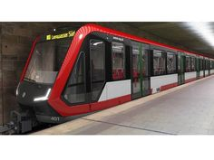 #SIEMENS METRO ALEMANIA Nürnberg orders trains for Line U1 2015
