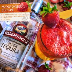 Mango-Berry Escape with Margaritaville Silver Tequila
