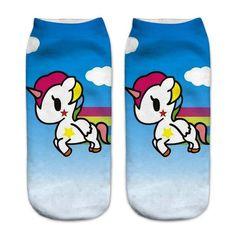 Infinite Unicorn Socks (12 Styles) - Shop The Cutest Things at CuteFTW.com