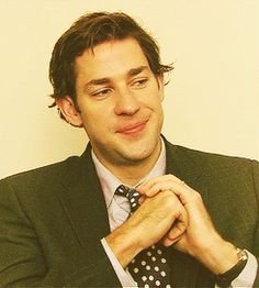 Whenever he did the Jim Halpert face and looked at the camera and smirked and everybody exploded from adorableness. | 34 Times John Krasinski Was The Most Perfect Man Alive