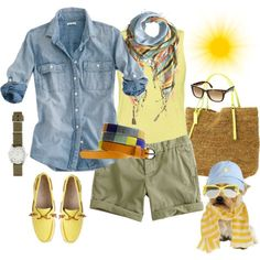 Happy Vernal Equinox by crewstyle on Polyvore featuring J.Crew, Michael Kors, Sete Di Jaipur, Kate Spade, Polo Ralph Lauren, Ray-Ban and Wilfred