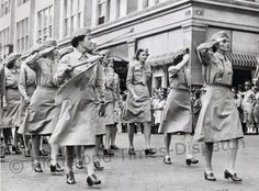 In June 1944, to mark the Fifth War Loan campaign, Richmond hosted a parade that included Women's Army Corps members. The organization was formed initially in May 1942 as the Women's Army Auxiliary Corps and took on its new name in 1943. Aside from nurses, the WACs were the first women to serve in the Army, and other military branches had similar groups that formed during World War II. The organization was officially disbanded as a women's branch in 1978, with all members folding into full…