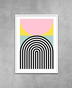 New Brutalist architecture inspired prints and posters are now available. #Etsy #Yumalum #Brutalism #poster #print #art
