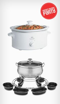 Maximize the amount of time you spend with your guests. These kitchen items will do the cooking for you!