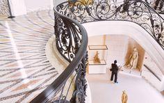 Inside the Petit Palais - Amazing iron staircase - Paris Perfect