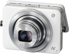 Digital Camera  | PowerShot N | Canon | This little guy is compact, convenient, and automatically pushes images to your smartphone.