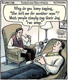 57 Hilarious Bizarro Comics Are Proof That Humor Is The Best Therapy Bizarro-Comics-Dan-Piraro Cartoon Jokes, Funny Cartoons, Funny Comics, Satirical Cartoons, Bizarro Comic, Carl Grimes, Duck Dynasty, Andrew Lincoln, Daryl Dixon