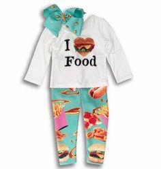 ¡Un outfit SÚPER antojable!!! • WE  FOOD • #Colibrí #MTY #SPGG #DF #Polanco #OtoñoInvierno2015 #NewArrivals #FabulousBrand #FashionGirls #Friyay #OutfitOfTheDay #YummyPrints #Favoritos #ModaInfantil #ILoveFood