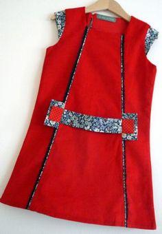 Children's sewing pattern : Dress précieuse