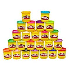 Play-Doh 24-Pack of Colors (Frustration Free Packaging) -   - http://www.toyrange.com/toys-games/arts-crafts/craft-kits/playdoh-24pack-of-colors-frustration-free-packaging-com/