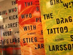 The Millennium Trilogy by Stieg Larsson - suspensful, complex, genius, AMAZING. I read this trilogy in record time.