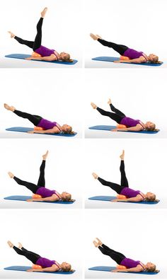 The Pilates Ball Core-Strengthening Workout : 8) Helicopter #abs