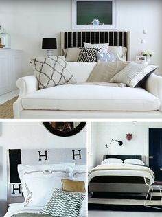 See Nate Berkus's genius - and so easy - DIY headboard idea to update your bedroom on a budget.