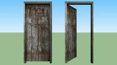 Old Door Wood - 3D Warehouse