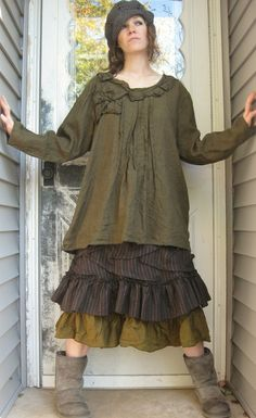 Poet Petal Shirt by sarahclemensclothing on Etsy, $139.00