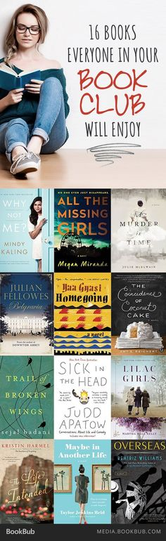 Is your book club looking for their next read? Check out this list of 16 books…