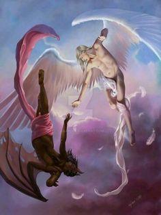 Male angels by Saarl Male Angels, Black Angels, Angels And Demons, Fantasy Art Angels, Fantasy Artwork, Angel Man, Angel Guide, Angel Warrior, Digital Art Gallery