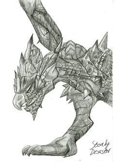 Rathalos from MH3U