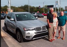 Jimmy and Cynthia Roberson are pictured here with their Sales Advisor Tom Wilcox and their brand-new gorgeous 2017 BMW X3. The Robersons are BMW enthusiasts, they also have a BMW 2581, and they are very excited to add an SUV to their collection to carry their artwork & real estate photography equipment. Check out their incredible work at cynthiaroberson.com. #ZTMotorsHappyClients #BMWFWB #Emerald Coast #RealEstate