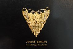 Located in Sona Patti, Upper Bazar, Anand Jewellers is one of the oldest jewellery shops of Ranchi. We deal in Gold, Silver and Diamond Ornaments and Gem Stones. Old Jewelry, Indian Jewelry, Jewelry Shop, Bridal Jewellery, Diamond Jewellery, Gold Mangalsutra, Heart Ring, Houses, Jewels
