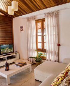 Casa de madeira - interior