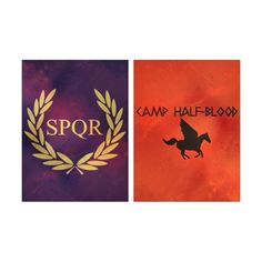 Camp Half-Blood and camp Jupiter ❤ liked on Polyvore featuring percy jackson, fandoms, backgrounds, camp half blood and camp jupiter