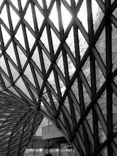 Glass and steel construction @Kathryn Frankfurt