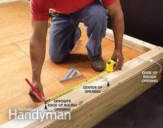 Wall Framing Tips for New Construction: The Family Handyman Home Building Tips, Shed Building Plans, Shed Plans, House Building, Cabin Plans, Building Design, House Plans, Woodworking Guide, Custom Woodworking