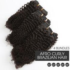 Hair Extensions & Wigs Peruvian Straight Hair 4 Bundles Deals 100% Human Hair Bundles 4 Pcs/lot Miss Cara Remy Natural Color Human Hair Extensions