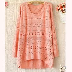 Pointelle-Knit Top from #YesStyle <3 Ringnor YesStyle.com