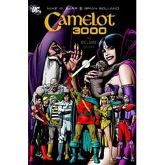 """""""Camelot 3000 will probably catch your eye for two reasons: It is illustrated by the great Brian Bolland (The Killing Joke), and it involves King Arthur in the Year 3000, when bloodthirsty reptilian aliens invade Earth seeking world domination."""""""