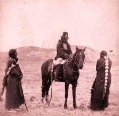 OGLALA AT LARAMIE , 1868
