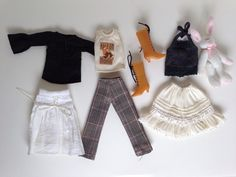 Cute BLYTHE Doll Clothes Lot - Urban Romantic - JL15 #ClothingAccessories