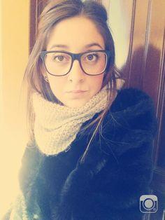 #me #sun #pellicciotto #black #bellagiornata