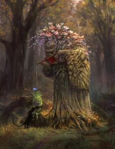 New Ideas For Fantasy Art Fairies Mythical Creatures Forests Illustration Art, Illustrations, Fantasy Inspiration, Magical Creatures, Fantasy Artwork, Fantasy World, Dragons, Amazing Art, Character Art