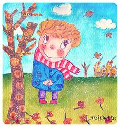 Ilustración infantil Laninette