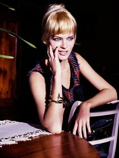 Michaela Hlavackova by David Burton for Elle Russia March 2015