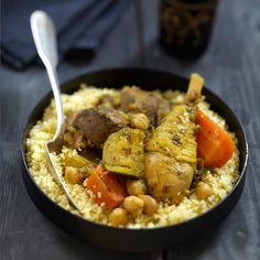 Découvrez la recette Couscous sur cuisineactuelle.fr.