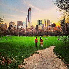 Central Park en New York, NY