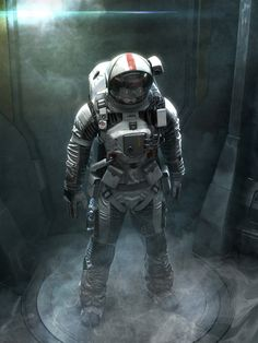 Astronaut01, jeff miller on ArtStation at http://www.artstation.com/artwork/astronaut01