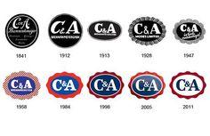 C & A Logo Evolution
