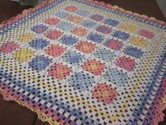 crochet afgan baby blancket by YARNARTWORLD on Etsy, $40.00