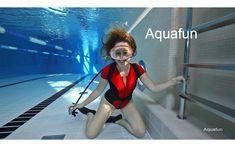 Clip 073 - Red scuba lady