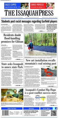 The Issaquah Press (Issaquah, Washington) archive - http://isq.stparchive.com/