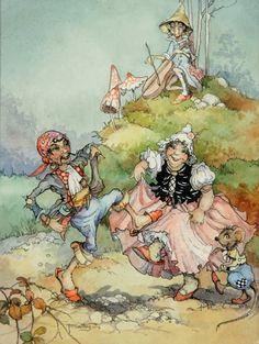 Faeries and Little Folk: Peg Maltby's Fairy Folk